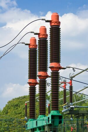 conduction: Isolators of one small transformer station