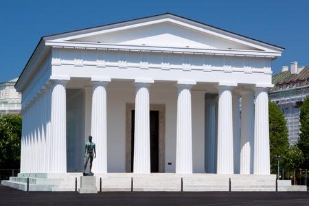Theseus Temple; Volksgarten; Vienna; Austria