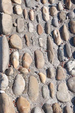 piso piedra: Primer plano de un piso de piedra para un fondo Foto de archivo