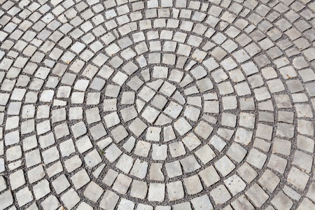 stepping stone: Closeup of cobblestones as background