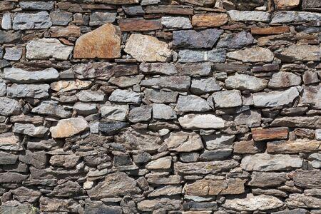 retaining: Closeup of an old retaining wall