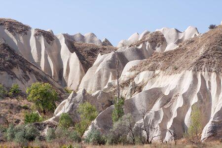 goreme: Sandstone formations in Cappadocia; Turkey Stock Photo
