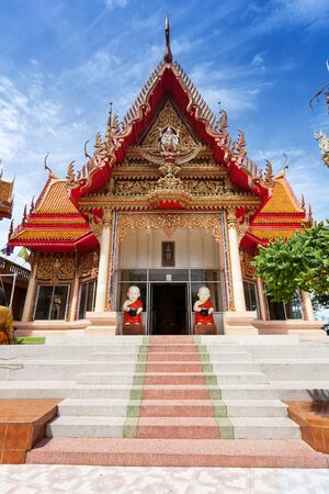 sua: Temple Wat Tham Sua at Kanchanaburi; Thailand