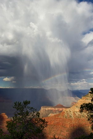 Special effects of nature in the grand canyon Stock Photo - 10347041