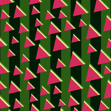Watermeloen naadloze patroon, textuur