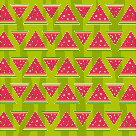 Watermelon seamless pattern, texture. Abstract