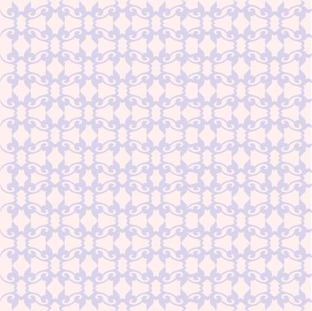 Bloemenpatroon. Achtergrond barok, damast. vector achtergrond. Paars en sereniteitskleur Stock Illustratie