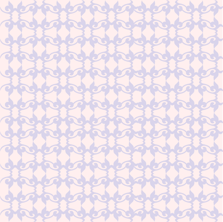 Floral pattern. Wallpaper baroque, damask. vector background. Purple and serenity color