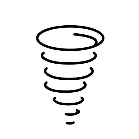 Hurricane Icon Vector 矢量图像