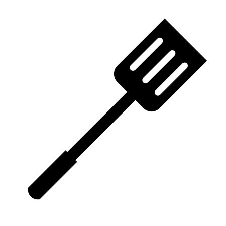 Kitchen Flipper Icon Vector