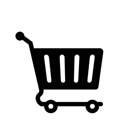 Online Cart Icon Vector  イラスト・ベクター素材