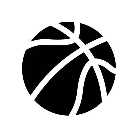 Basketball Ball Icon Vector  イラスト・ベクター素材