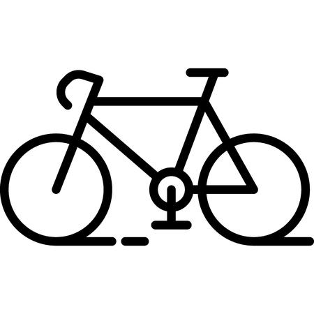 Bicycle Icon Vector  イラスト・ベクター素材
