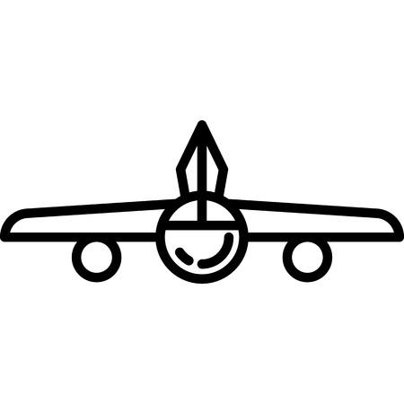 Airplane Icon Vector  イラスト・ベクター素材