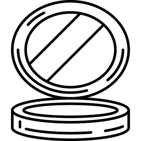 Small Mirror Icon Vector