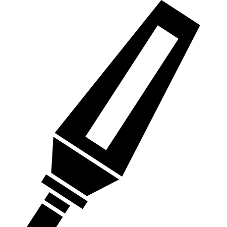 Permanent Marker Icon Vector  イラスト・ベクター素材