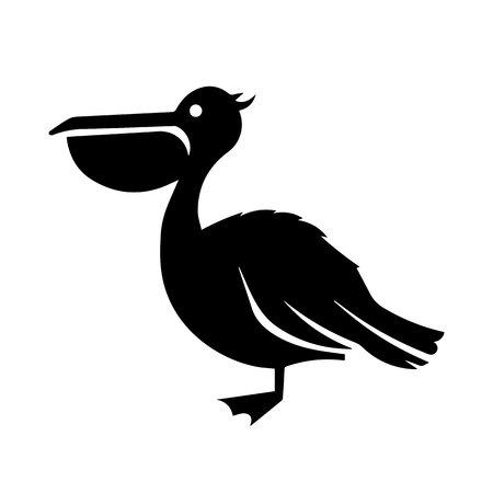 Pelican Icon Vector