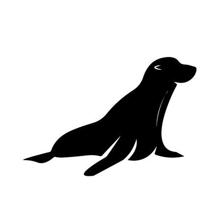 Fur Seal Icon Vector  イラスト・ベクター素材
