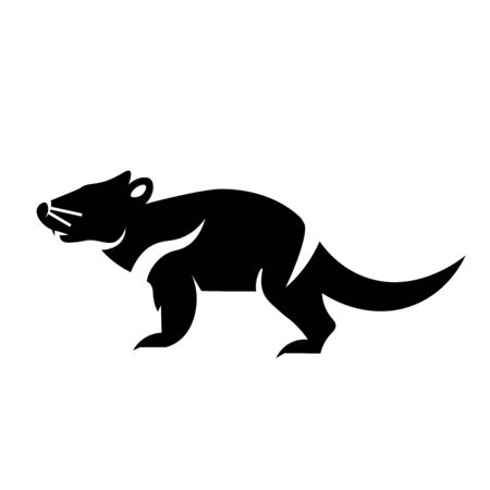 Tasmanian Devil Icon Vector 일러스트