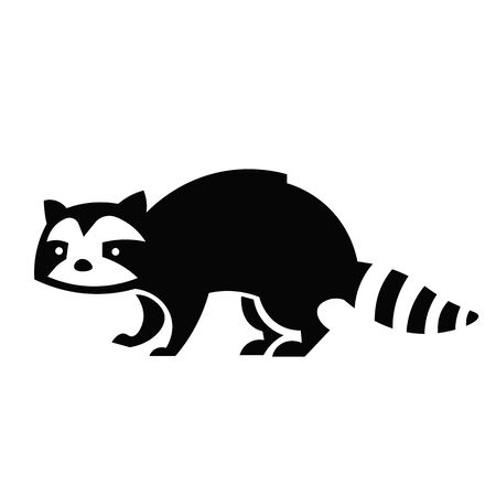 Raccoon Icon Vector