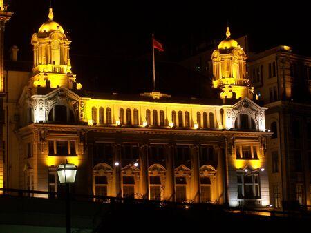edifice: night scene Editorial