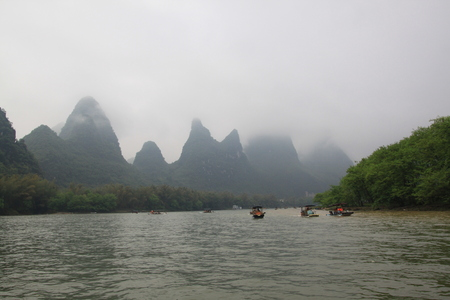 The Lijiang River in Guilin