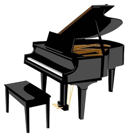 Piano Фото со стока