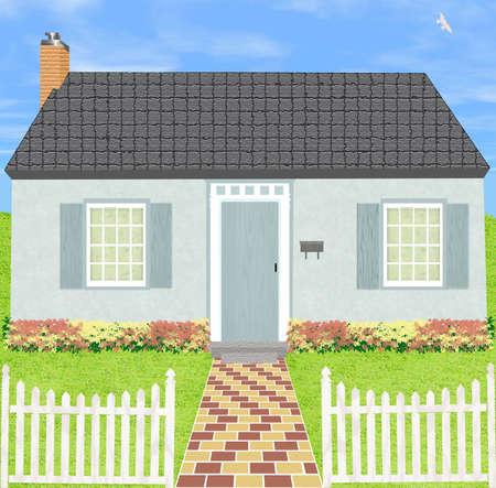 Home Digital Illustration
