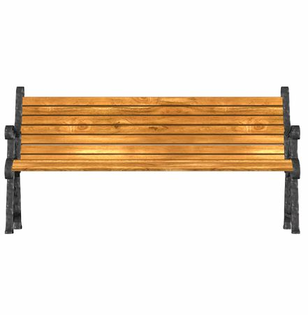 seating: 3d render of a park bench at 600 dpi
