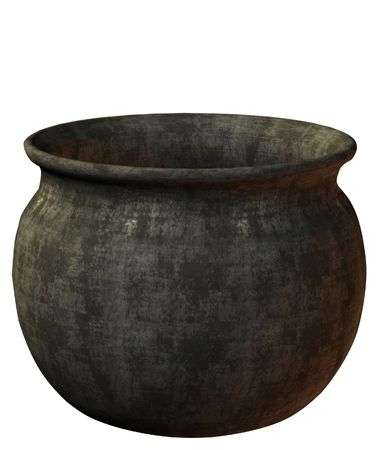 3d render of a witch's cauldron