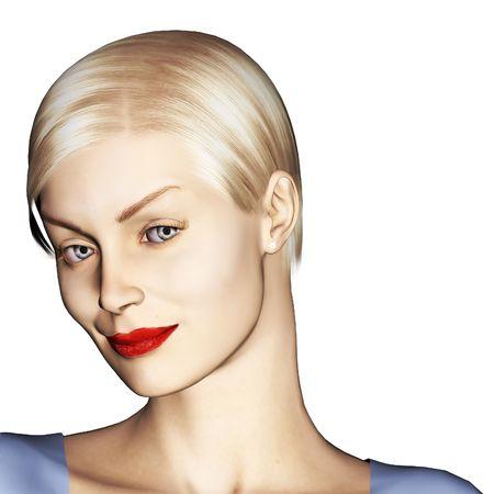 portrait of a beautiful woman Zdjęcie Seryjne