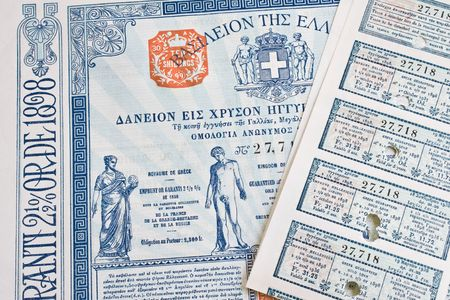 A Greek Bond dating from the 1930s