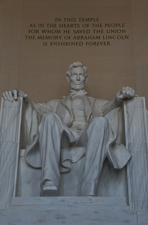 The Lincoln Memorial in Washington D C  photo