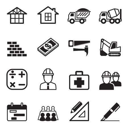 construction icon: Construction icon Set 3