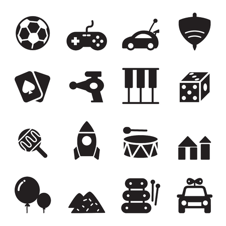 silhouette Toy icons