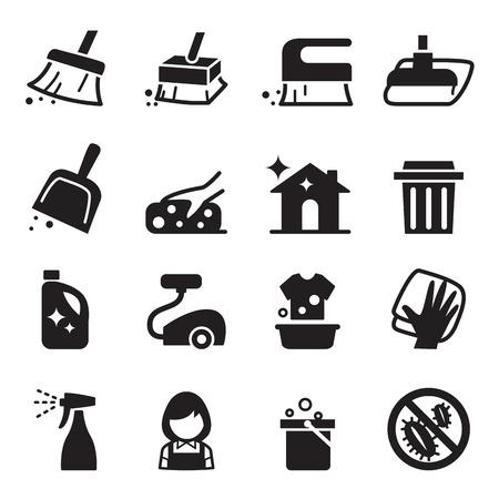 Limpieza de conjunto de iconos