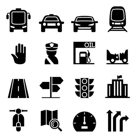Traffic icon Illustration