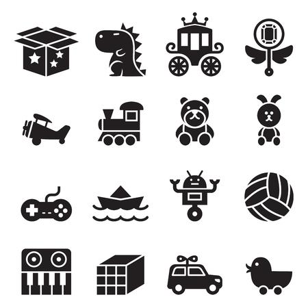 Zabawka zestaw ikon