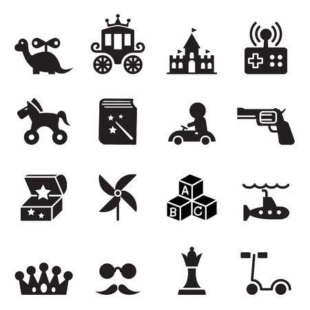 wind wheel: Toy icons