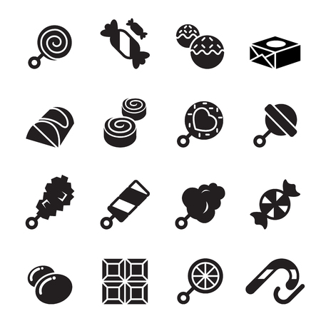 peppermint candy: Sweets and candies icons