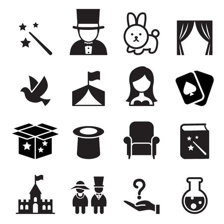 Magic icon  イラスト・ベクター素材