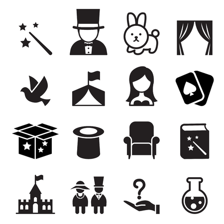 Magic icon Illustration