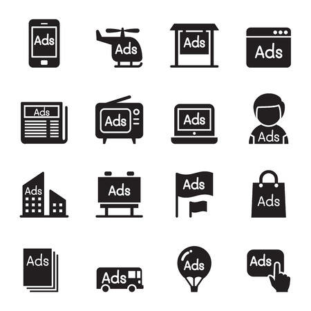 advertisement: Advertisement icons