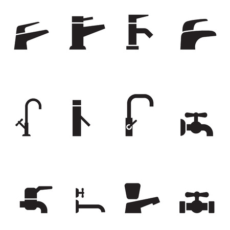 Wasserhahn-Symbol