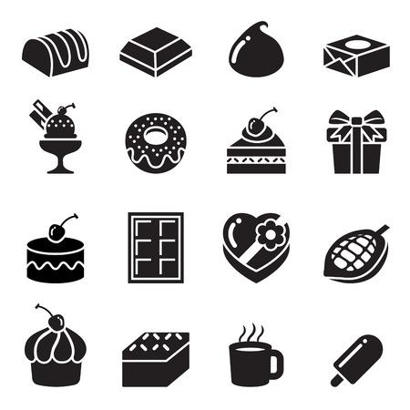 Schokolade Symbole
