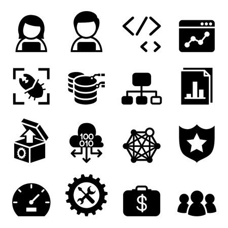 software design: Software Development, Software design ,Computer Programming icon