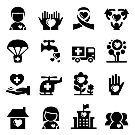 philanthropist: Charity icon