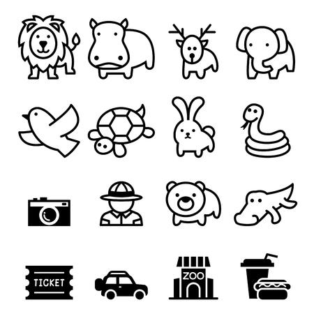 terrestrial mammal: Zoo icon