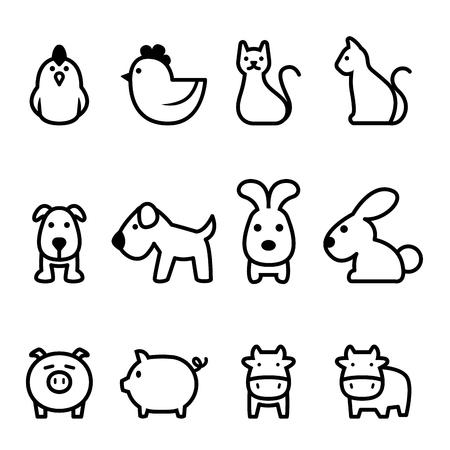 basic animal icon
