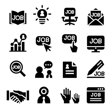 resource: human resource icon Illustration